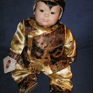 "Adora Doll Retired Asian Chinese Boy 18"" MIB"